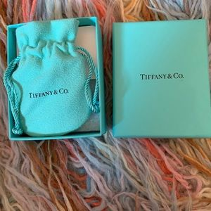 K Tiffany and co silver necklace